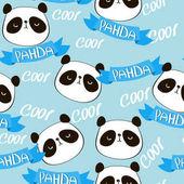 Fotografia Modello cool panda bear