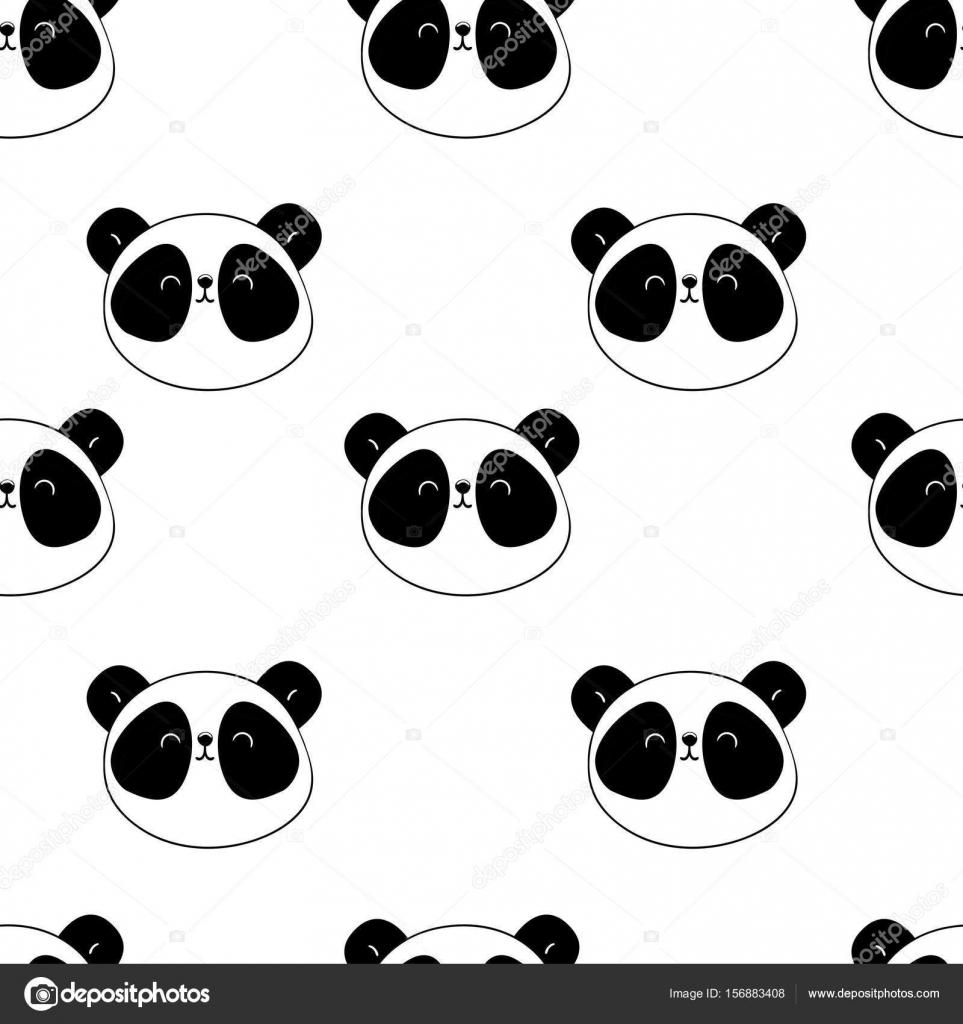 patrón sin costuras Panda — Archivo Imágenes Vectoriales © AlsouSh ...