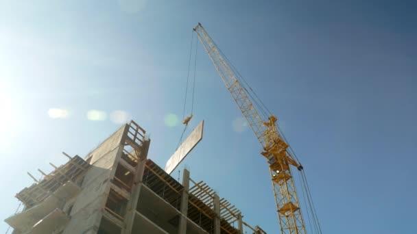 Stavební jeřáb pracovní věžáku 4k