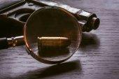 Pistole Beretta s střela ráže 9mm