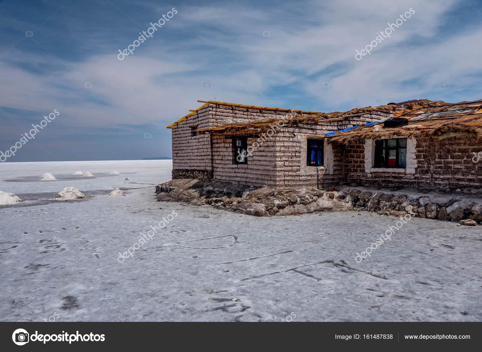 Salt Hotel At Salar De Uyuni Bolivia Stock Photo C Dvrcan