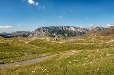 Beautiful scenery at National Park Durmitor, Montenegro