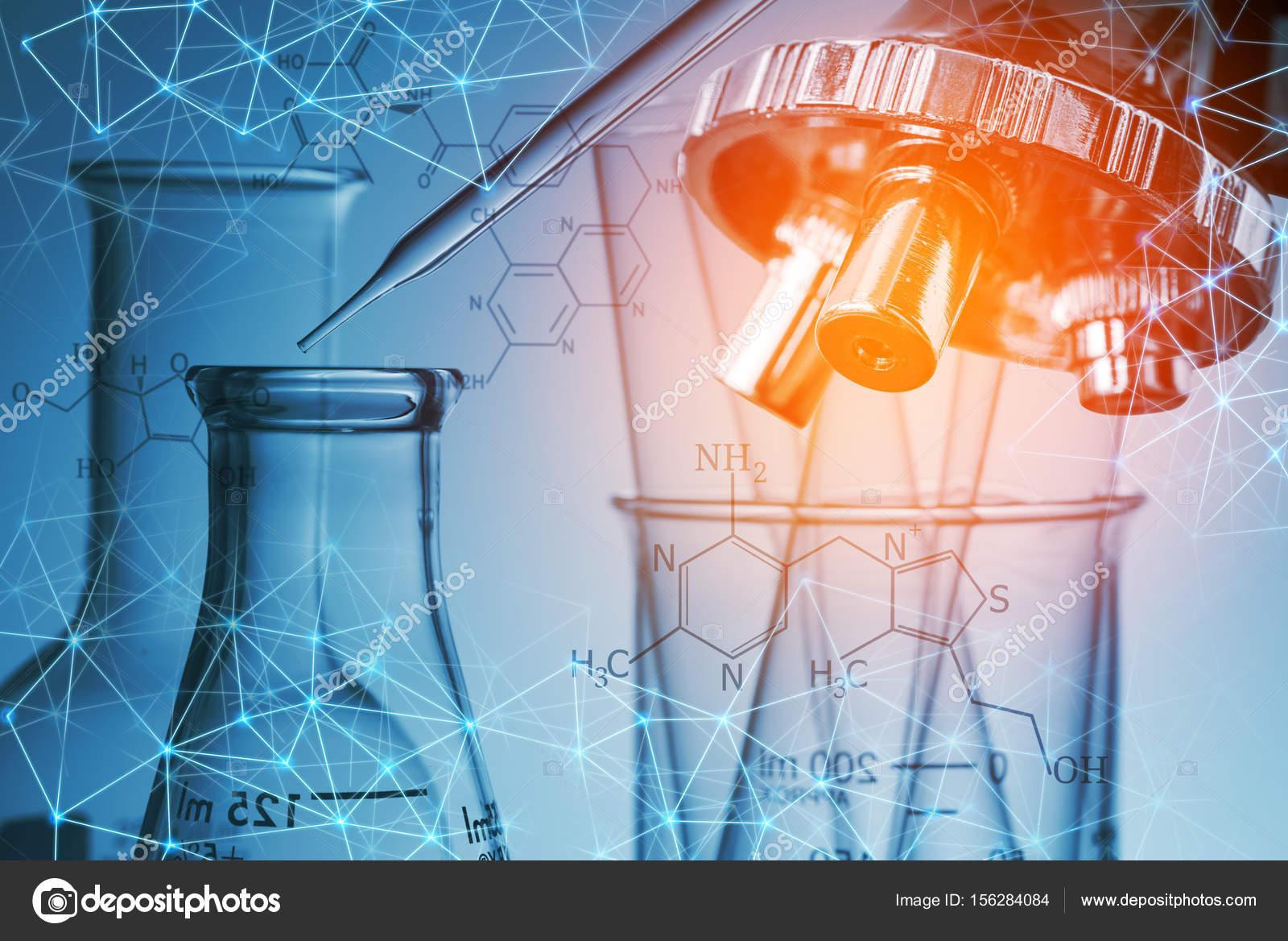 Tubo de ensaio microscpio e laboratrio conceito de pesquisa tubo de ensaio microscpio e laboratrio conceito de pesquisa cientfica fotografia de stock ccuart Images