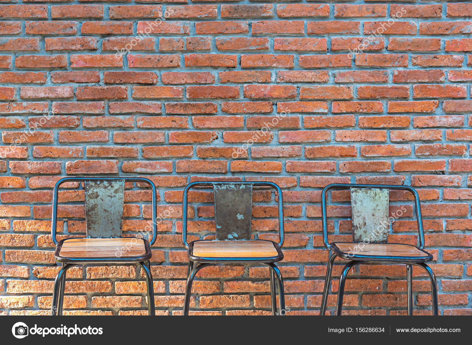 Bar Counter On Red Brick Wall Background U2014 Photo By Kwanchaidp