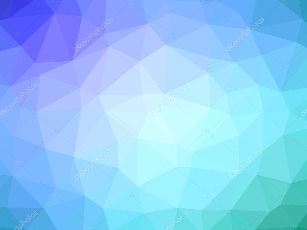Fond En Forme De Polygone Dégradé Purple Teal Photographie