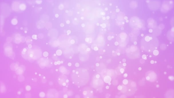 Purple pink background with moving particle lights