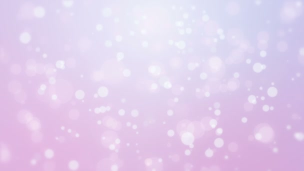 Glowing abstract purple pink background with flickering bokeh lights.