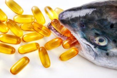 Omega-3 vitamin capsules