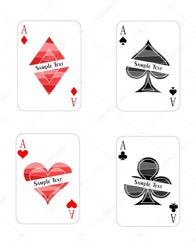 Ausgezeichnet Leere Spielkartenvorlage Bilder - Entry Level Resume ...