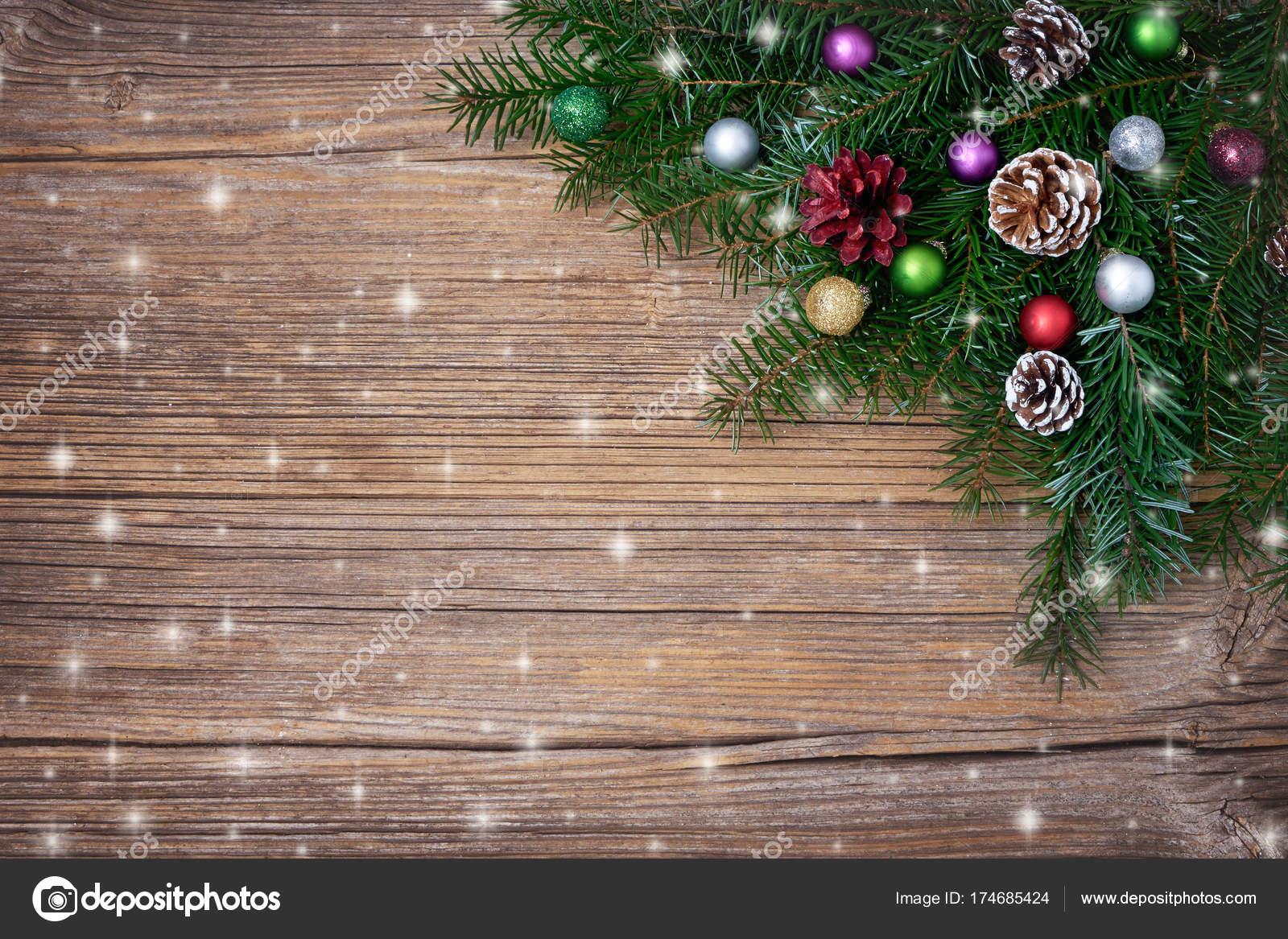 Branche D Arbre Sapin De Noel fond noël branche arbre noël sapin avec décoration espace