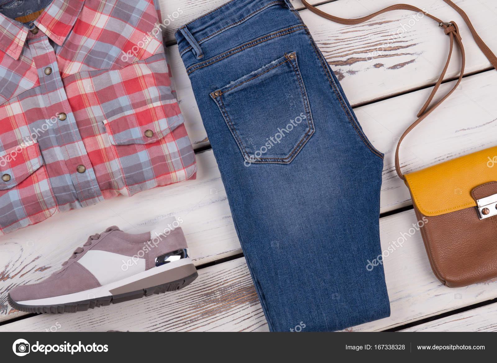 Hosen Hemd Jeans Hemd Flanell Und Flanell 45AR3jL