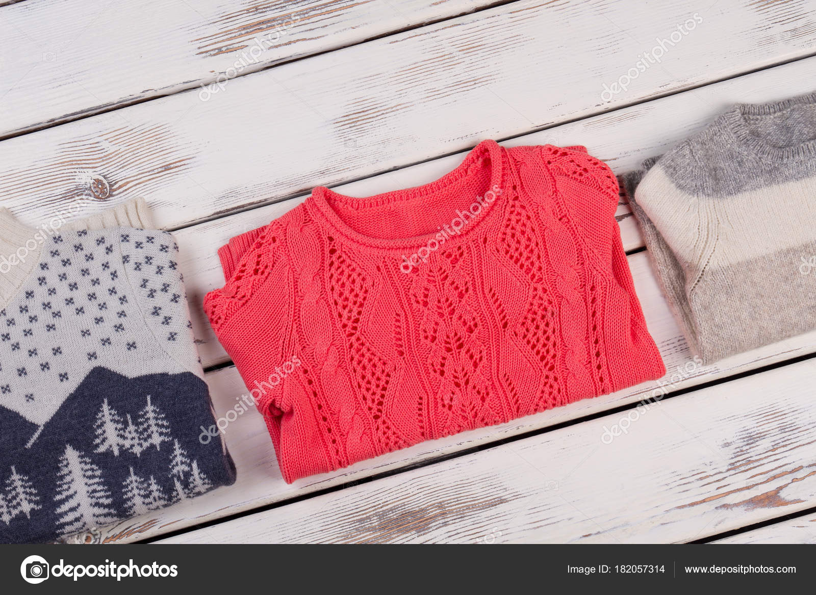 Ručně pletené a háčkované svetry — Stock Fotografie © margostock ... 4170b2d74a