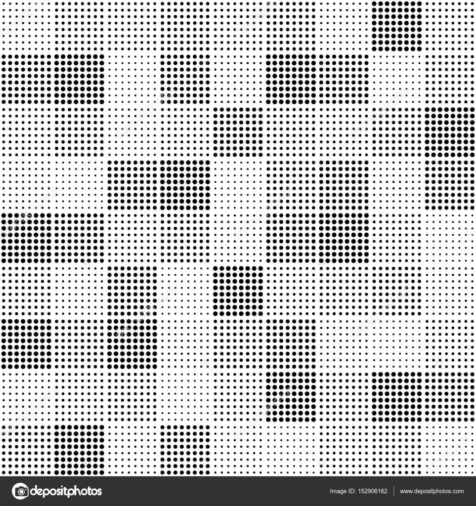 Patrón transparente de vector - cuadrados punto — Archivo Imágenes ...