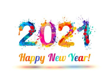 Happy New Year 2021 Premium Vector Download For Commercial Use Format Eps Cdr Ai Svg Vector Illustration Graphic Art Design