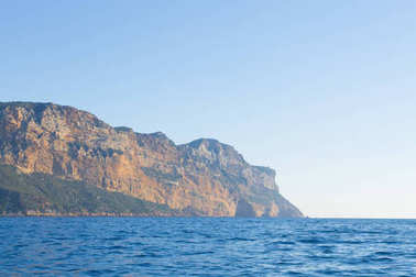 Cap Canaille view from sea, Franc