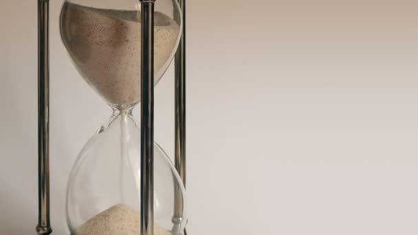 Óra üveg homok öntés Vértes Timelapse