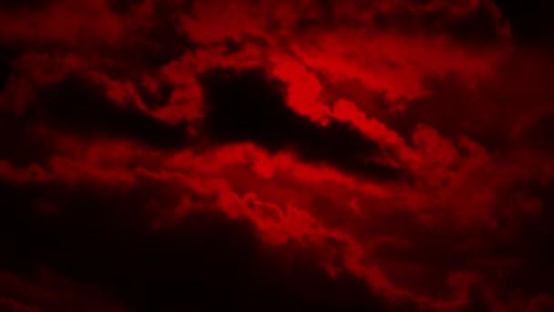 Strašidelné mraky na červánky