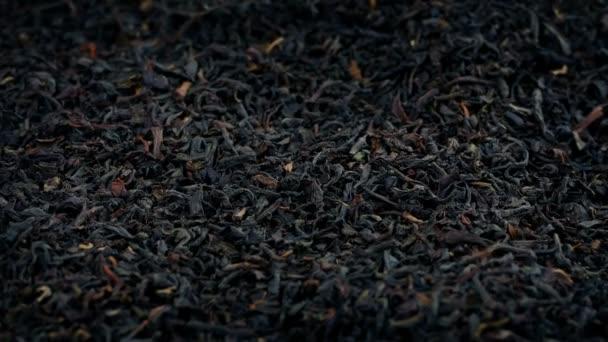 Schwarzer Tee lässt Nahaufnahme