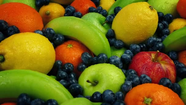 Passing A Large Buffet Of Wet Fruits
