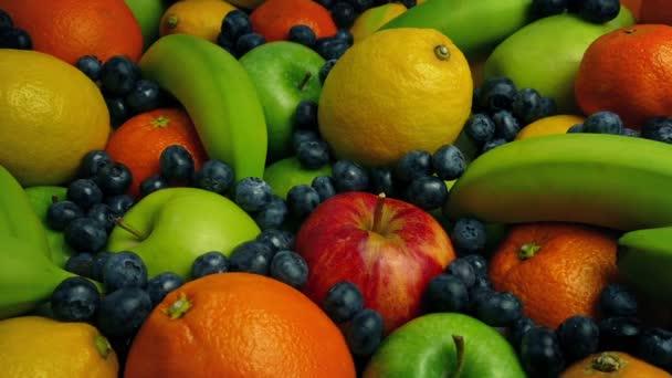 Tompított színes gyümölcs-büfé