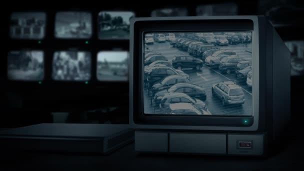 Parkoló Cctv monitor