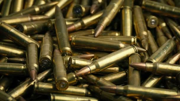 Bullet Pile Rotating Closeup