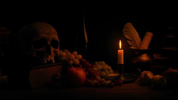 Svíčku zapálí klasické stále život uspořádání