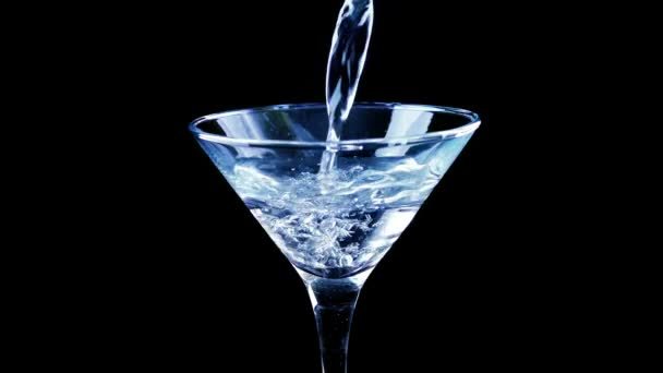 Pouring Martini Cocktail In Nightclub