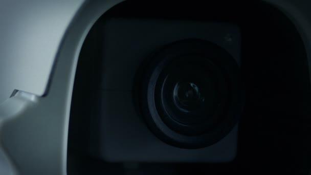 Cctv Camera Objektiv Záznam světla Closeup