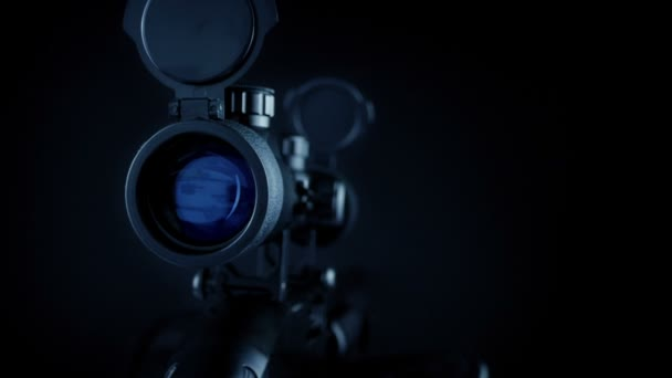 Sniper Rifle Scope Coming Into View