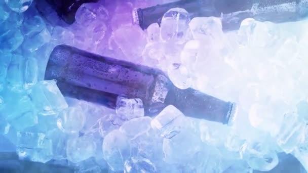 Hideg gőz sör felett jég fölött lövés