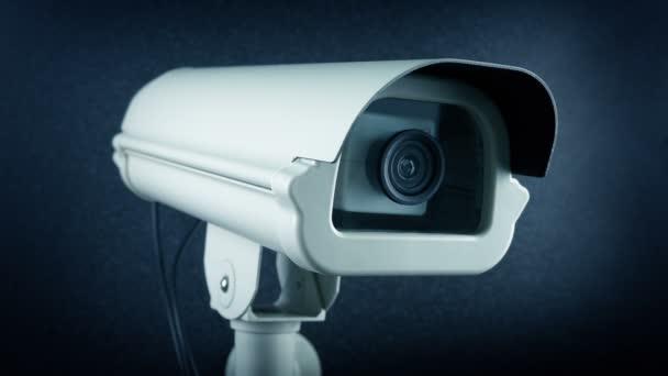 CCTV kamera červená nahrávání světelná smyčka