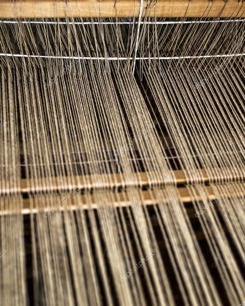 Weaving machine process