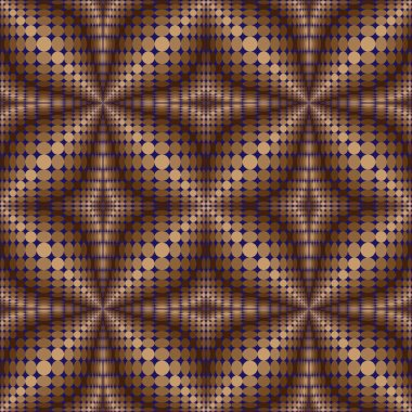 Pattern of circles and ovals 2.