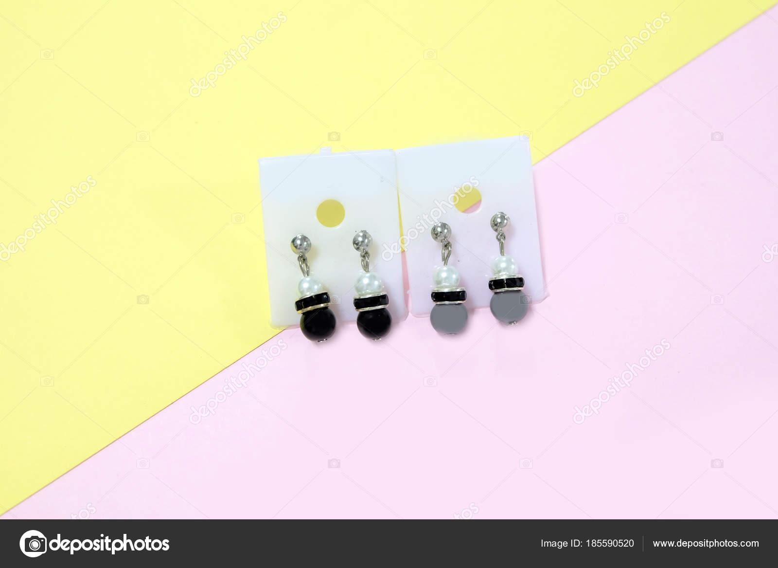 Lampadario Gocce Rosa : Anello dell orecchio del lampadario gli accessori moda paio