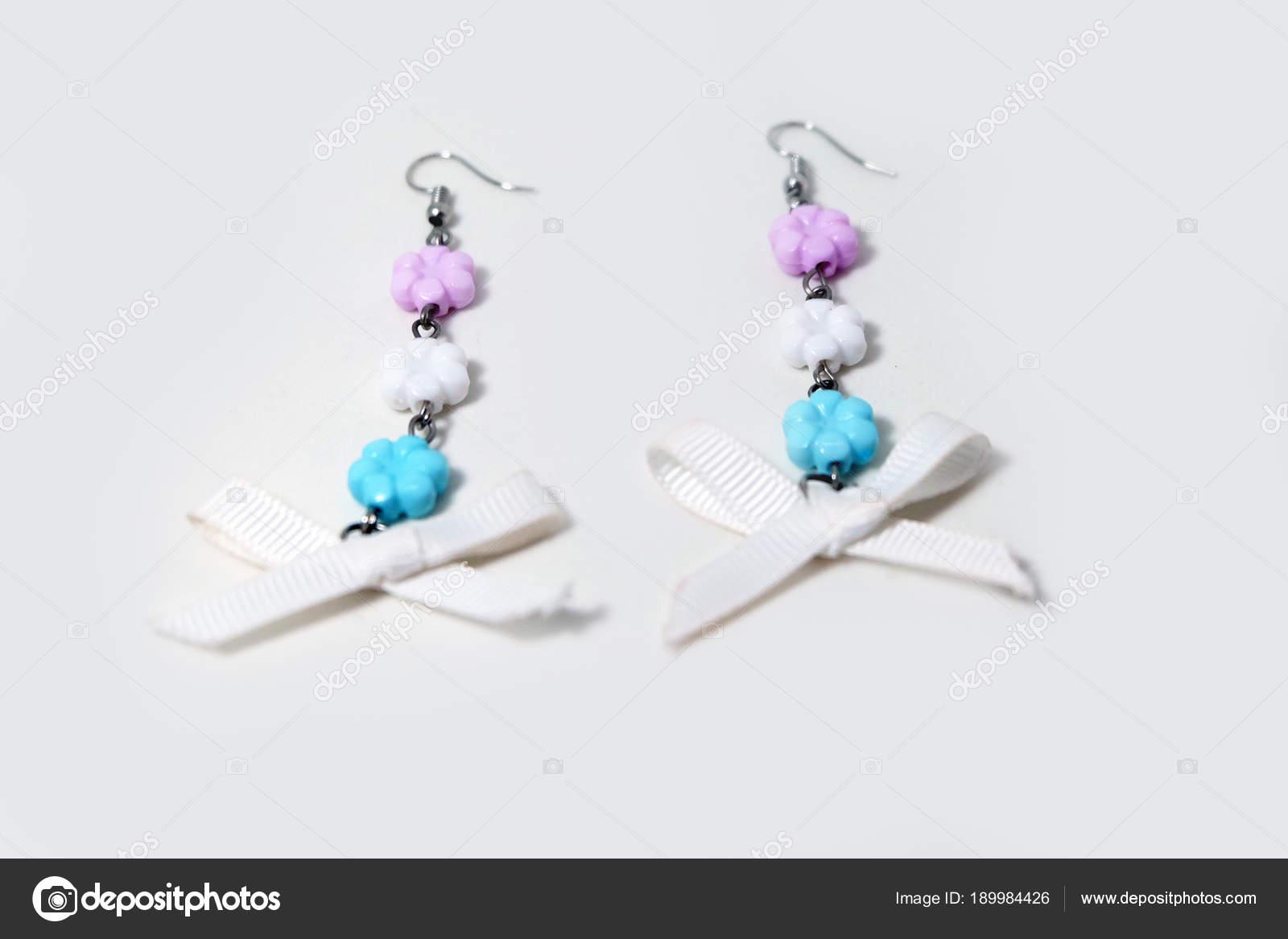 Kronleuchter Ohrring Schöne Schleife Bow Ohrring Mode