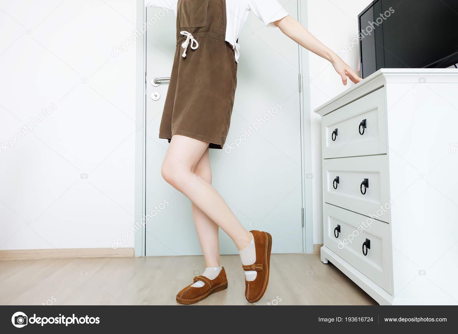 Сексуальные ноги у сексуальной девушки