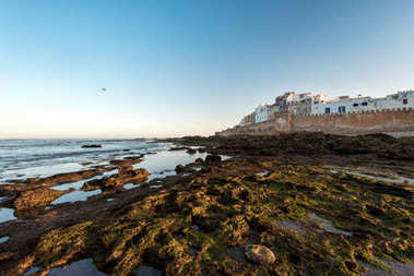 Essaouira city and port on the Atlantic coast in Morocco, North Africa