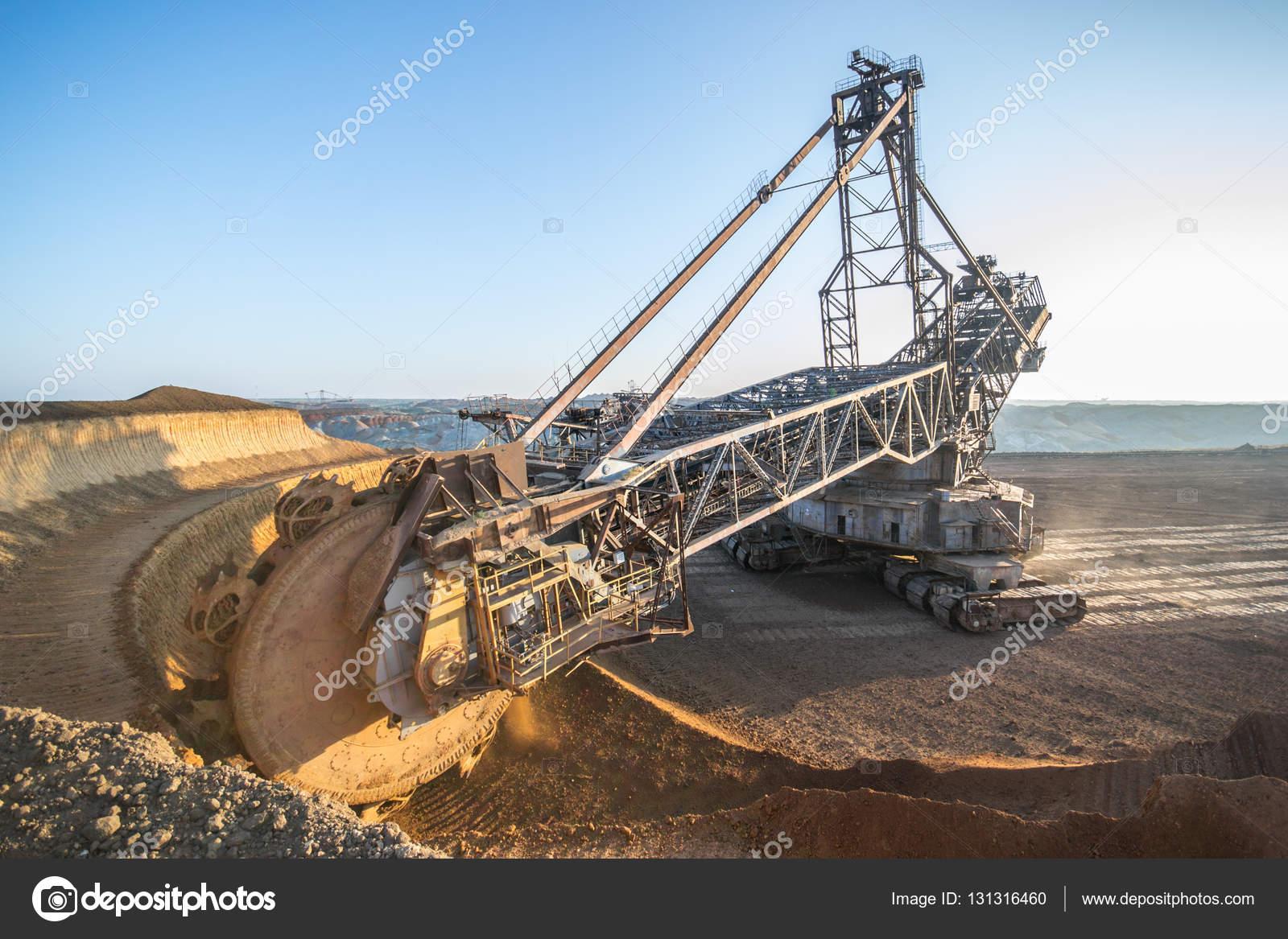 Biggest Excavator In The World Working Bagger 228 Ukraine Big Mine Develop Mineral Resources Excavator Digs Metallurgy In Ukraine Stock Photo C Mysokol 131316460