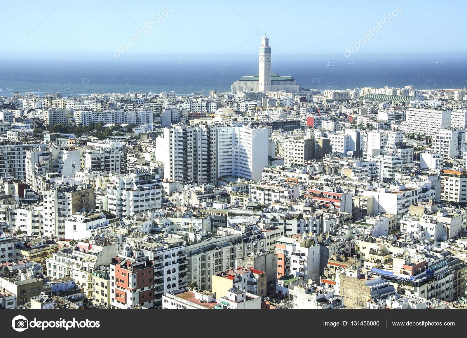 View over the city of Casablanca, Morocco — Stock Photo