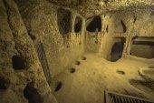 Kaymakli Underground City je obsažen v Citadele Kaymakli v centrální Anatolii Region Turecka