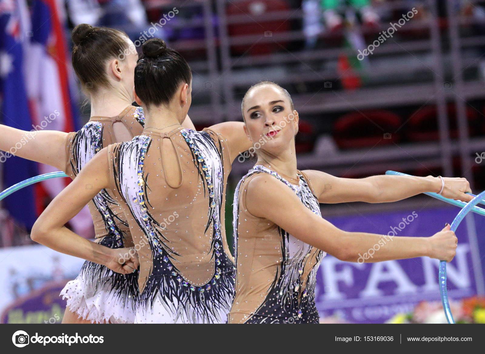 Team Russia Rhythmic Gymnastics – Stock Editorial Photo © Belish