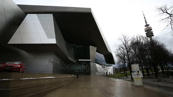 Výstavba muzeum světa Bmw