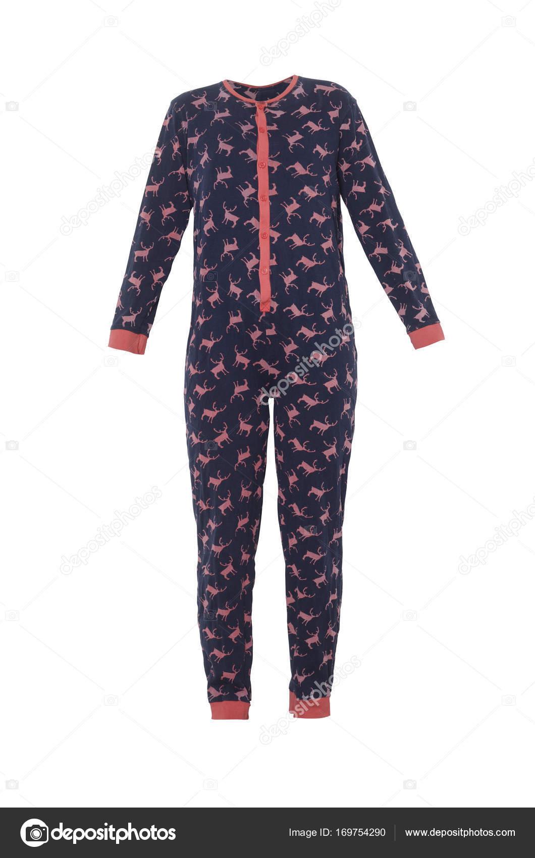 b5de65ad71 pijamas para niños con ciervos aislados en blanco — Fotos de Stock ...