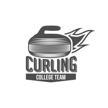 vintage curling label