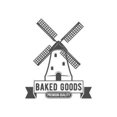 vintage retro bakery logo