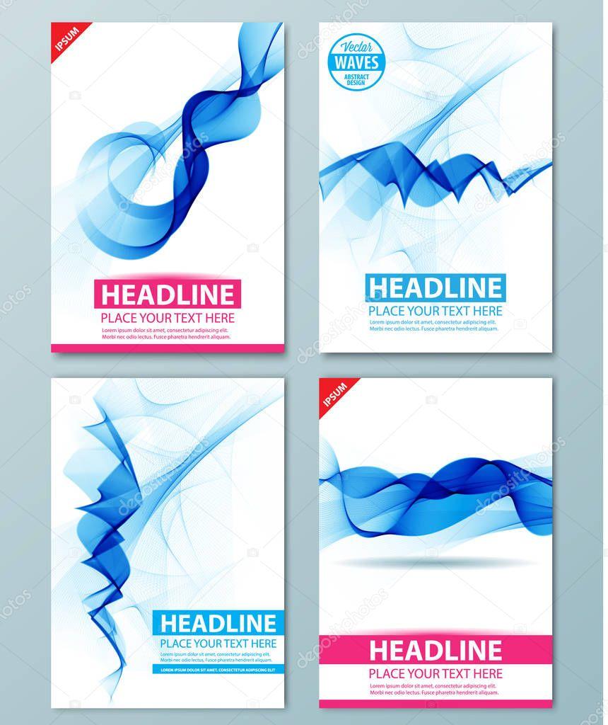 Moderno catálogo, informe o folleto diseño plantilla — Archivo ...