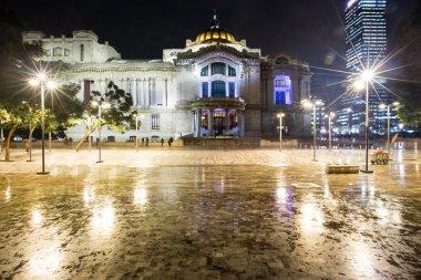 Palacio de Bellas Artes or Palace of Fine Arts, a famous theater