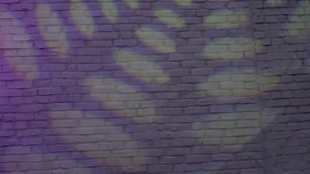 Barevné soundlights na zeď