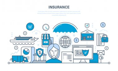 Insurance realty and property, guarantee security of financial deposits, savings.